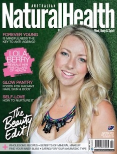Australian Natural Health - Cover Apr-May 2015