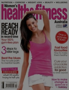 ROLLOVER Women's Health & Fitness Cover October 2011