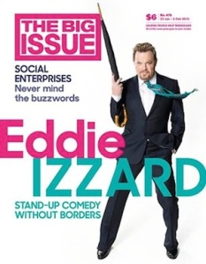 The Big Issue Izzard 2015