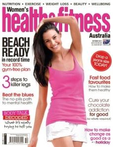 Women's Health & Fitness Cover October 2011