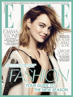 Elle magazine cover September 2018