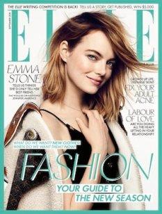 Elle magazine cover September 2018