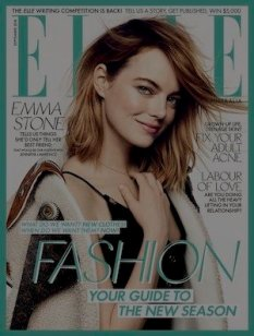 ROLLOVER Elle magazine cover September 2018
