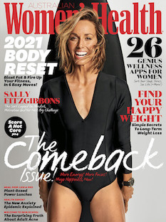 Women's Health cover - March 2021 trimmed